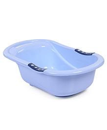 Baby Bath Tub Bear Print - Blue