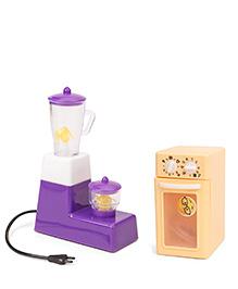 Ratnas Princess Kitchen Appliances Toy 2 In 1 Combo - Purple Cream