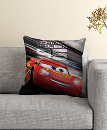 Disney Pixar Cars Filled Cushion With Cover - Black Red - 1862953