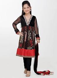 Girlish - Full Sleeves Salwar Kameez Set