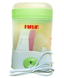 Farlin - Auto Steam Sterilizer 3 Bottle Slots Green