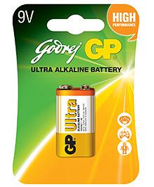 Godrej GP 9V Alkaline Battery - Pack Of 1
