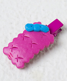 Kidcetra Candy Style Hair Clip - Dark Pink