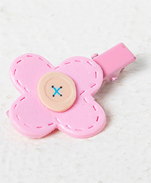 Kidcetra Flower Style Hair Clip - Pink