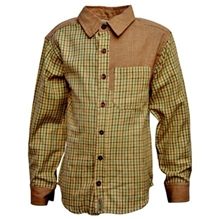 GRON - Full Sleeves Check Shirt