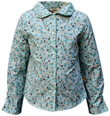 GRON - Full Sleeves Floral Print Shirt