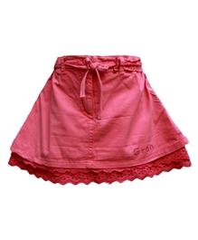 Gron - Pink Cotton Skirt