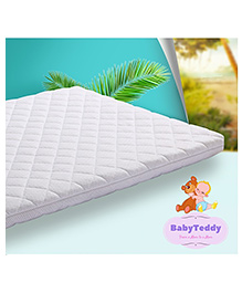 BabyTeddy All Natural Coco Mattress - White
