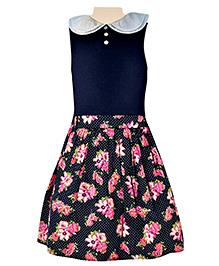 Nauti Nati - Sleeveless Skirt Style Frock With Belt