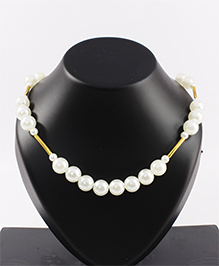Pihoo Necklace - Off White & Golden