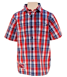 Nauti Nati - Half Sleeves Shirt With Checks