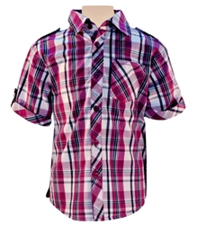 Nauti Nati - Half Sleeves Formal Shirt With Checks