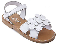 Doink - Party Sandal With Flower Applique
