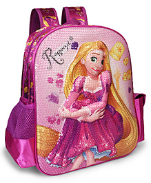 Disney Rapunzel School Bag With Adjustable Straps - 14 Inches