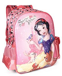 Disney Snow White School Bag Pink - 14 Inches