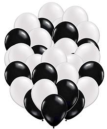 Party Propz Balloons Black & White - 50 Pieces