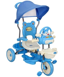 Fab N Funky Rabbit Design Baby Tricycle - Blue