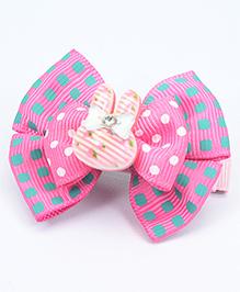 Asthetika Bunny Ears Hair Clip - Pink
