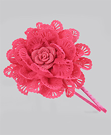 Tia Hair Accessories Flower Hairband - Pink