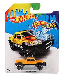 Hot Wheels Color Shifter Mega Duty Truck Toy - Yellow
