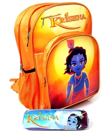 Krishna - 16 Inches Tripple Chain Primary School Bag