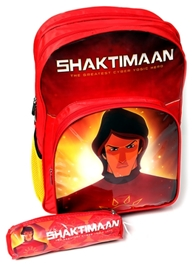 Shaktiman - 16 Inches Tripple Chain Primary School Bag