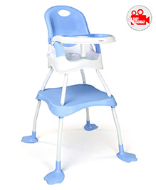 Babyhug High Chair - Blue - 1898090