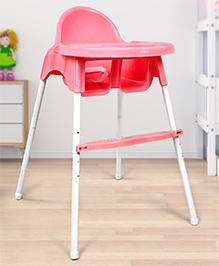 Babyhug High Chair - Pink