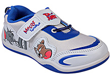 Tom And Jerry - White Sports Shoes
