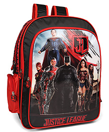 Marvel Justice League School Bag Black - 16 Inches