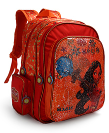 Disney Sequin Backpack Minnie Mouse Red - 14 Inches
