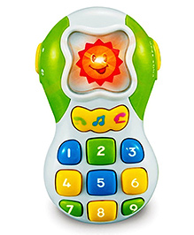 Webby Musical Mobile Phone With Flashing Lights - Multicolour