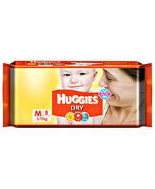 5 Pieces 5 - 11 Kg, 5 - 12 Months, Quick Dry Layer Quickly Pulls Fluid Away From...