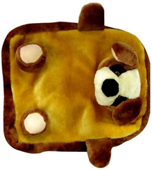 Tickles - Brown Puppy Shoulder Bag