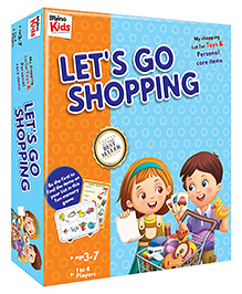 Braino Kids Shopping Toys Cards - Multi Color