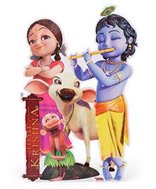 Sticker Bazaar Little Krishna With Radha Sticker Cut Out - Multi Color