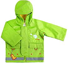 Kushies Baby - Green Rain Jacket