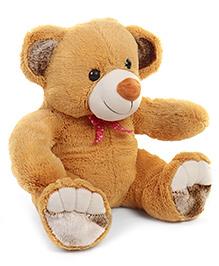 Liviya Sitting Teddy Bear Soft Toy Light Brown - Height 30 Cm
