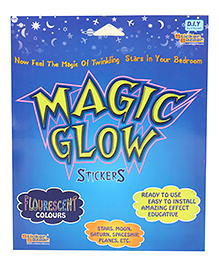 Sticker Bazaar Magic Glow In Dark Stickers