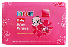 Farlin Anti Rash Baby Wet Wipes 85 Pieces