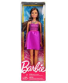 Barbie Fashion Doll With Neck Piece Purple -  29.5 Cm
