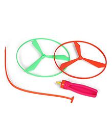 Ratnas Sky Flier Spinning Toy - Multicolour