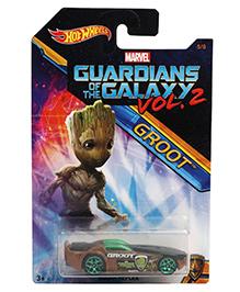 Hot Wheels Solar Reflex Guardians Of Galaxy - Brown Green