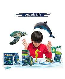 Redchimpz Aquatic Life Augmented & Virtual Reality Based Educational Game - Multicolour
