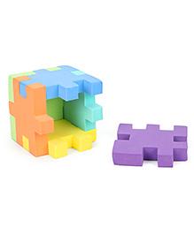 Funjoy  3D Cube Puzzle - Multicolour