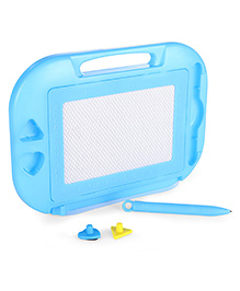 Alphabet & Numeric Drawing Board - Blue
