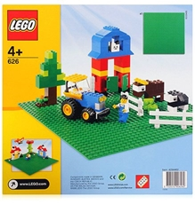 Lego Classic Green Building Plate - Multi Color