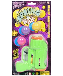 Classic - Ping Pong Guns With Spring Ball