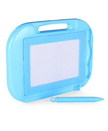 Baby Writing Board With Pen & Handle - Blue