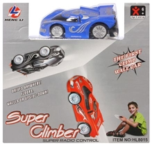 Classic - First Wall Climbing Car Blue